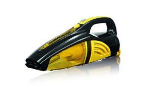 Cleanmaxx 00973Aspirateur à main 2en 1–Aspirateur Sec/Humide/- 40W |kabellos | Nettoyage Budget | Jaune/Noir
