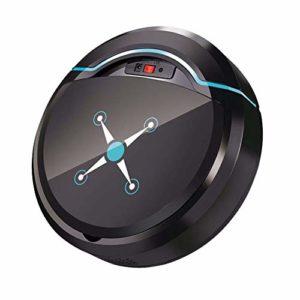 Coomir Smart Aspirateur Robot USB Rechargeable avec Ventouse et Outil de Nettoyage Automatique Noir