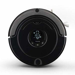 H.Koenig SWR22 Aspirateur Robot Noir – Autonomie 90min