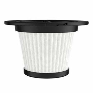 Hosome Aspirateur Balai sans Fil 2 en 1 Aspirateur Multifonctionnel avec Lumière LED (blanc)