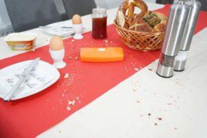Orange Crumpy Ramasse Miettes Table kehrer Rapido Aspirateur à Main miettes Roller, sans électricité