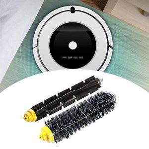 SOWLFE L'aspirateur robotique remplace Le Rouleau de Rechange pour Les Poils d'animaux, la Commande vocale, Les Tapis Fins et Les sols durs