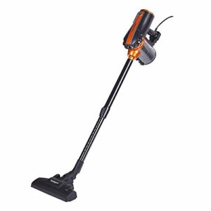 Techwood TAS-655 Aspirateur balai 2 en 1 Noir/Orange 0,5 L 600 W