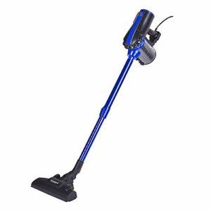 Techwood TAS-9060, Aspirateur Balai 2 en 1, 600W, 0.5L, Noir/Bleu