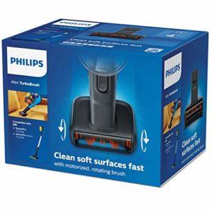 Philips FC8079/01 Mini Turbo Brosse Compatible Aspirateur Balai Speedpro et Speedpro Aqua