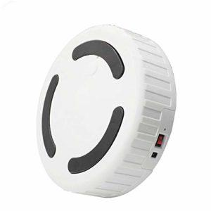 QLJJ Aspirateur Robot Automatique Intelligent Aspirateur de Charge Automatique Intelligent sans Fil poussière Balayeuse Aspirateur pour Plancher de Bois Franc Tapis (Color : White, Size : One Size)