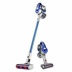 QLJJ Aspirateur Robot sans Fil Memory Stick Aspirateur Aspiration 60 Minutes Durée pour Plancher de Bois Franc Tapis (Color : Blue, Size : One Size)