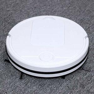 Redxiao~ Aspirateur Robot, Charge USB Forte Aspiration aspirateurs robotiques UV Silencieux secs humides, Utilisation à Domicile pour la poussière Flottante de Laine de Coton de Poils d'animaux