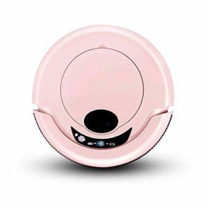 XIANWEI Robot Aspirateur Ultramince Forte Aspiration Calme Station de Recharge Automatique Robotisée Aspirateur Nettoie Dur À Planchers Tapis Moyen Pile,B