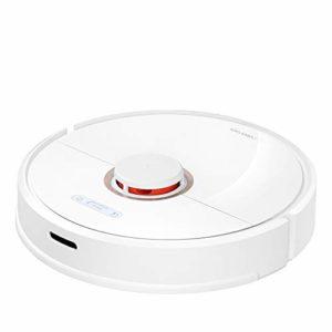 Xiaomi Aspirateur connecté Blanc, Roborock S6 Robot Aspirateur-Balayage et Nettoyage-Auto-Recharge Contrôle Intelligent Planifié-Aspiration : 2000 Pa-Batterie : 150 min (aspirateur /serpillère)