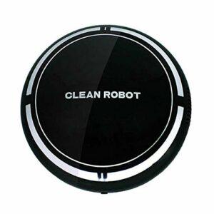 Aspirateurs RobotiquesLe Robot Aspirateur Smart Sweeper Nettoie Les Sols Durs Aux Tapis à Poils MoyensAspiration PuissanteAspirateurPièce (Size:One Size; Color:Black2)