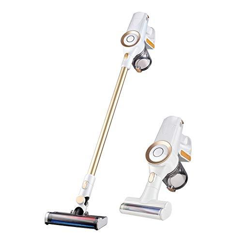 Multifonction Aspirateur Balai Puissant Vertical sans fil Aspirateur, 2 en 1 sans fil léger à main bâton, filtre HEPA, 0.8L Coupe poussière, 120W de puissance élevée, jusqu'à 35 minutes Temps de trava