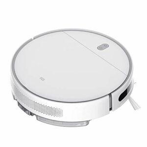 Xiaomi Mi Aspirateur Robot Laveur de Sol Puissante 2200 Pa,2500mAh Efficace sur Nettoyeur,Robot Aspirateur Connecté via application mobile, idéal pour animaux, Sols et tapis