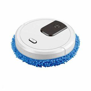 AZPINGPAN Robot aspirateur intelligent, humidificateur automatique à pulvérisation, double usage 3 en 1, balayage, aspirateur et serpillère, robots de balayage automatique sans fil