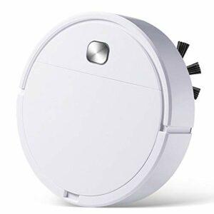 MNCYGJ Aspirateur De Robot Aspirateur D'aspirateur avec Fonction D'essuyage, Aspirateur Robot 1500Mah Capacité, Chargement USB/Bouton Start/Anti-Fall Induction, Robot D'essuie-Glace
