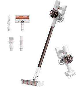 Dreame XR V10R Aspirateur sans Fil, Balai électrique 22000Pa Moteur sans Balai Puissant, léger et Flexible 4 en 1 jusqu'à 60 Minutes, Faible Bruit [Classe d'efficacité énergétique A +++]