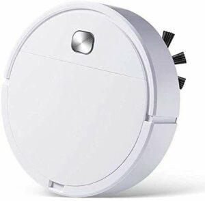 HAOKAN Accessoire ménager 3 en 1 Robot Aspirateur Rechargeable Smart Sweeping Dry Wet Aspirateur