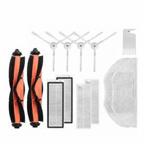 Henseek Lot de 13 outils de bricolage lavables pour aspirateur robot Mijia G1