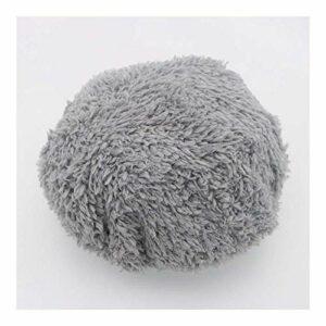 Henseek Lot de 24 chiffons de nettoyage pour robot aspirateur – Pour nettoyer les vitres – Couleur : gris