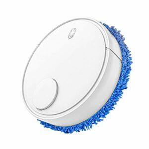 KAPAYONO Balayeuse de Machine de Vadrouille éLectrique USB pour Aspirateur Robot Sec et Humide Intelligent Automatique pour Aspirateurs Domestiques, Blanc