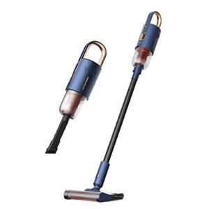 Aspirateur sans fil, aspiration intégrée et glisser-glisser, moteur sans balai, aspirateur de poche sans fil à domicile, adapté aux animaux domestiques