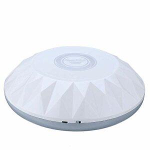 Aspirateur sans fil Micro Aspirateur Balai Nettoyage automatique Slim enlever la poussière sol Sweeper Noir Blanc Smart Home Aspiration (Couleur: Blanc, Taille: Taille) LUDEQUAN