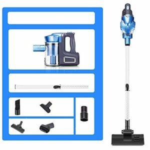 Aspirateur sans fil Aspirateur – Handheld/putter deux-en-un petit aspirateur à haute puissance sous vide sans fil, disponible dans 3 styles balais mécaniques puissants (Couleur: B) (Couleur: C) liqi