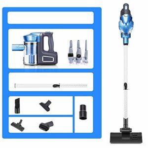 Aspirateur sans fil Aspirateur – Handheld/putter deux-en-un petit aspirateur à haute puissance sous vide sans fil, disponible dans 3 styles balais mécaniques puissants (Couleur: B) (Couleur: C) LUDE