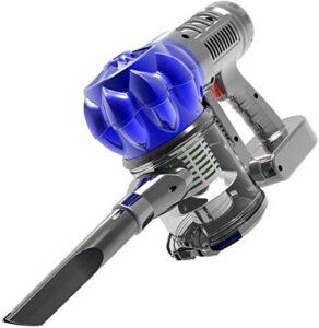 CAIJINJIN Aspirateur de robot Ménage à faible bruit Aspirateur à main vide Cleaner120W 4800PA forte aspiration, faible bruit, et humide Aspirateur à main sec portable for 4.5m cordon d'alimentation (b
