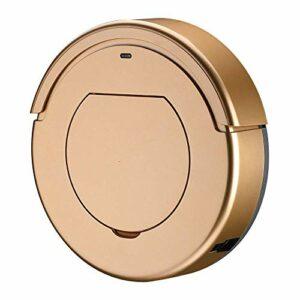 HUAHUA Aspirateur de poche Nettoyage Robot Aspirateur Robot Nettoyage Intelligent Robot de ménage Balayer, Or (Couleur: Gold)