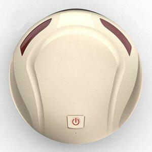 HUAHUA Aspirateur de poche Nettoyage robot intelligent balayeuse intelligent Balayer Aspirateur Robot automatique de ménage de charge Aspirateur Robot Balayer, Or (Couleur: Gold)