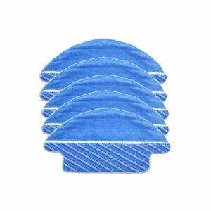 Accessoires pour aspirateur , 40pcs Chiffon de vadrouille de remplacement pour Cecotec Conga 3090 Aspirateur robotique Nettoyage Tampon de nettoyage Chiffons Pièces de rechange Balayeuses Accessoires