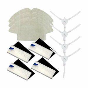 Accessoires pour aspirateur , Filtre de remplacement Convient pour 360 S6 Robot Aspirateur Balayeur principal Brosse Brosse Latérale Vadrouille Chiffons Pièces Accessoires Balayeuses Accessoires (Coul