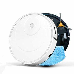 Angle-w Robot aspirateur sans bruit pour les poils d'animaux domestiques – Robot de nettoyage domestique sans fil – Recharge automatique – Sans bruit – Couleur : K100 – Taille : AU