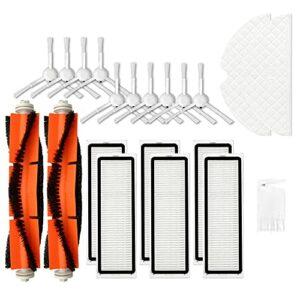 IUCVOXCVB Kit de nettoyage de rechange pour aspirateur robot Dreame F9 (couleur : lot de 16)