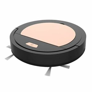 L-sister Nettoyage Intelligent Aspirateur Frais Sweeper Signifleur d'aspirateur sans Fil USB Rechargeable Robot Robot Robot ménage Nettoyage Aspiration Forte (Color : Black, Size : A)