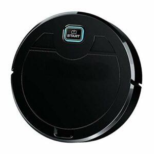 tellaLuna Robot aspirateur, balai de sol auto, désinfection UV, robot, noir
