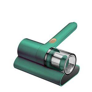 YANXS Ultra Aspirateur Matelas Textiles 10000 Pa 300W Puissant Système Cyclonique 200ML Poubelle Allergique UV, Aspirateur À Main pour Matelas,Vert