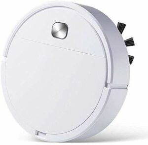 NICERE Aspirateur robot 3 en 1 rechargeable Smart Sweeping Dry Wet