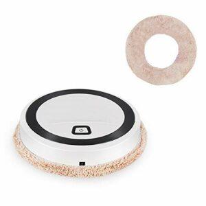 NICERE Serpillère de rechange pour aspirateur robot – Pour balayage, sols humides, tapis, usage domestique