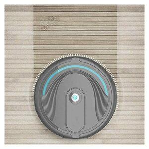 Aspirateur robot aspirateur de nettoyage du sol aspirateur automatique balai aspirateur aspirateur (Couleur : noir, taille : A)
