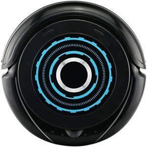 Chilechuan Aspirateur, aspirateur de robot Smart Navigation d'aspirateur robotique pour les cheveux de compagnie, tapis et tous types de plancher