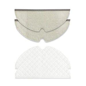 Houzhen Lot de 2 brosses de nettoyage pour la maison avec filtre HEPA pour aspirateur robot Dreame F9 (couleur : lot de 11)