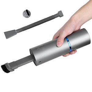 KACA Aspirateur à Main sans Fil portatif 4500Pa, Mini Nettoyeur de poussière pour Un Usage Domestique Automatique