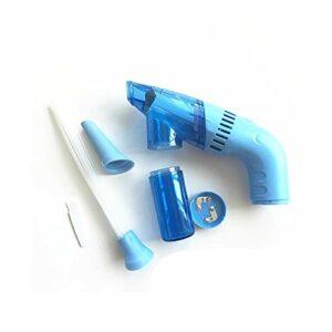 Mini-aspirateur sans Fil Portable, Nettoyeur de poussière, Nettoyeur de saleté, Outil de Nettoyage Domestique – Bleu