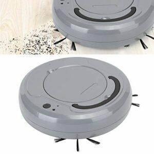 Pwshymi Aspirateur Robot Aspirateur USB Aspirateur Design Profond Aspirateur largement utilisé à Faible Bruit pour Le Bureau à Domicile(Grey, Pisa Leaning Tower Type)