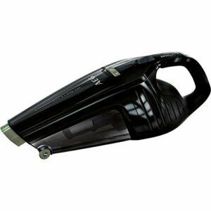 AEG HX6-23ÖKO Aspirateur à Main sans Fil (sans Sac, Nettoyage du Filtre Facile, jusqu'à 23 Minutes, fabriqué en 58% de Plastiques recyclés, 2 Vitesses, Base de Charge, lumière LED, Cyclone, Noir)