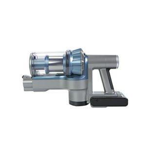 Aspirateur Balai sans Fil Nettoyeur Vacuum Cleaner Vertical et Sec à Main Amovible Métal Rotation à 90 Degrés et 45 Min pour Sols Pet,Blue