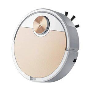 mcbeitrty Aspirateur robotique automatique 3 en 1 rechargeable pour utilisation humide/sèche, super silencieux pour le marbre, le parquet, la céramique, le carrelage, le parquet