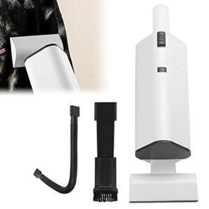 XQAQX Aspirateur, aspirateur à Cheveux, Aspiration de Poils d'animaux, aspirateur à Main électrique sans Fil, Dispositif de Nettoyage de Poils de Chien, Fournitures pour Animaux de Compagnie